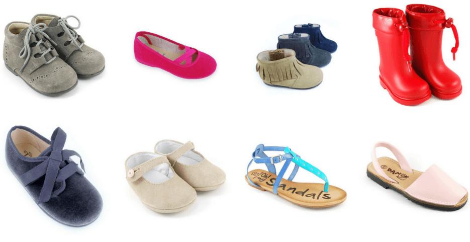 Web de Zapatos para Niños